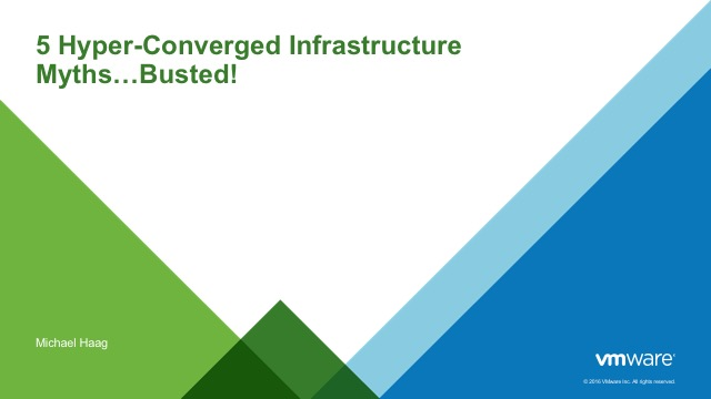 5 Hyper Converged Infrastructure Myths...Busted!