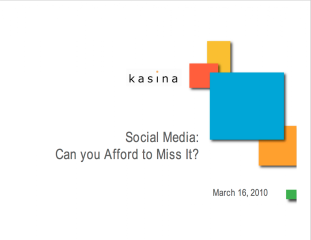 Social Media: Can You Afford to Miss It?