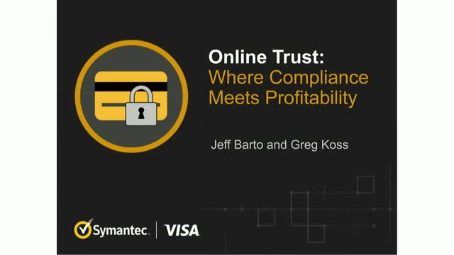 Online Trust: Where Compliance Meets Profitability