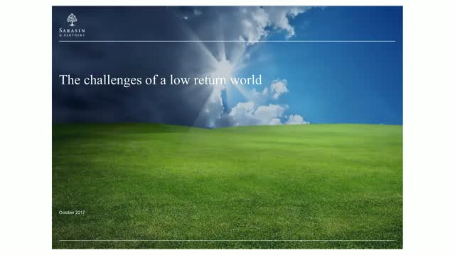 How to tackle the challenges of a low return world
