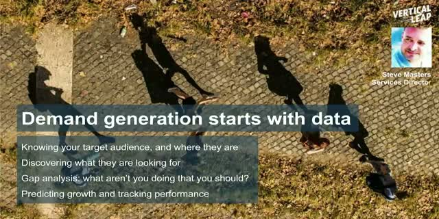 Demand Generation Starts With Data