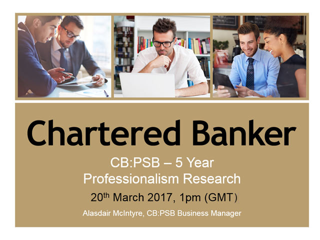 CB:PSB 5 Year Professionalism Research
