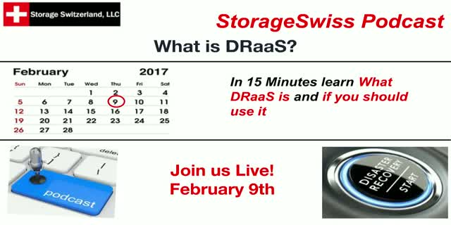 Podcast - What is DRaaS?