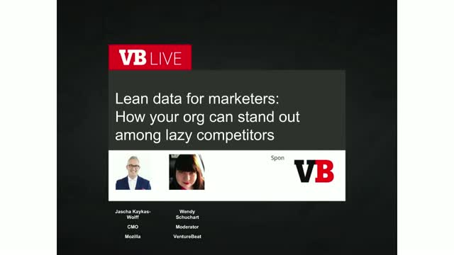 Lean data for marketers: How your org can stand out among lazy competitors