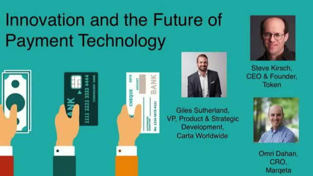 Innovation and the Future of Payment Technology Panel