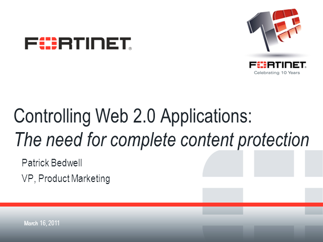 Controlling Web 2.0 Applications: Complete Content Protection
