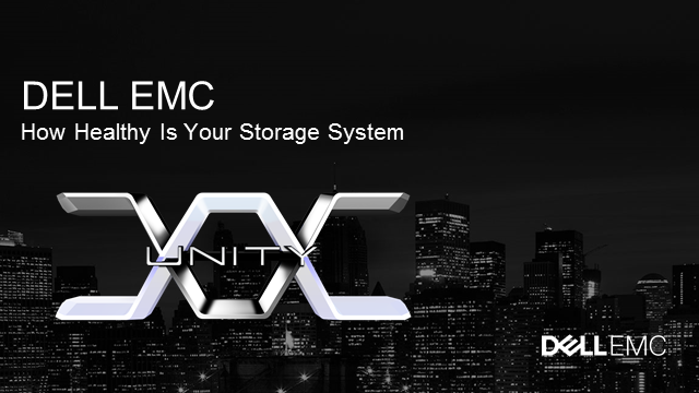 How Healthy is Your Storage System?