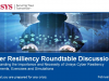How to Achieve Cyber Resiliency in an Evolving Threatscape - Roundtable