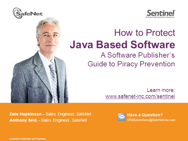 How to Protect Java-based Software Products Against Piracy