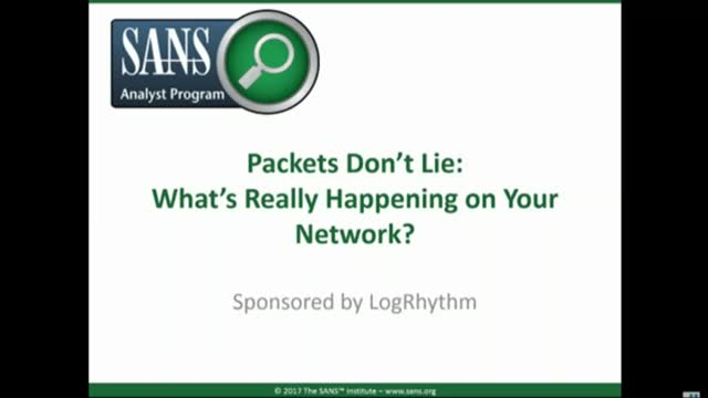 Packets Don't Lie: Do You Know What's Really Happening on Your Network?