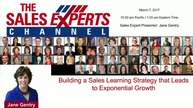 Building a Sales Learning  Strategy that Leads to Growth