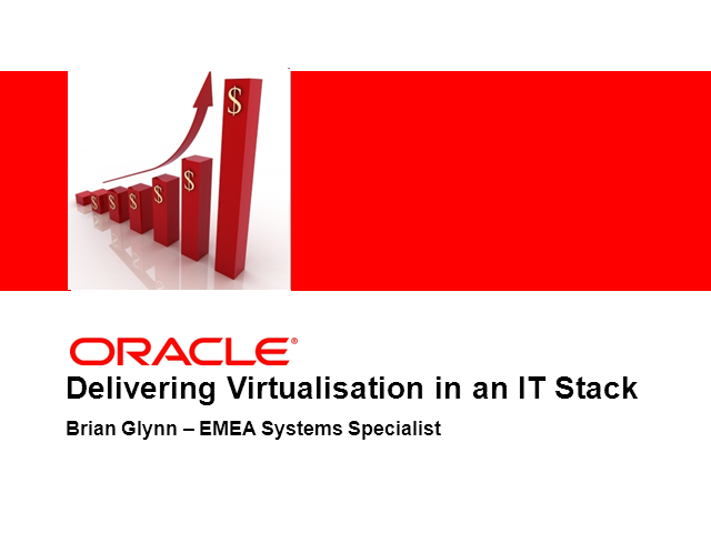 Delivering Virtualization in an IT Stack