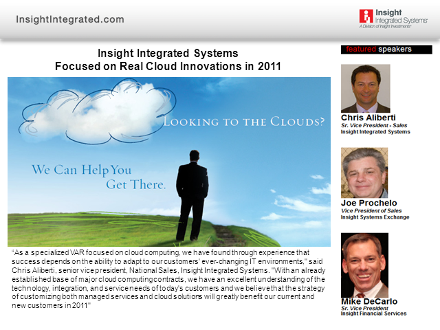 2011 Real Cloud Innovations