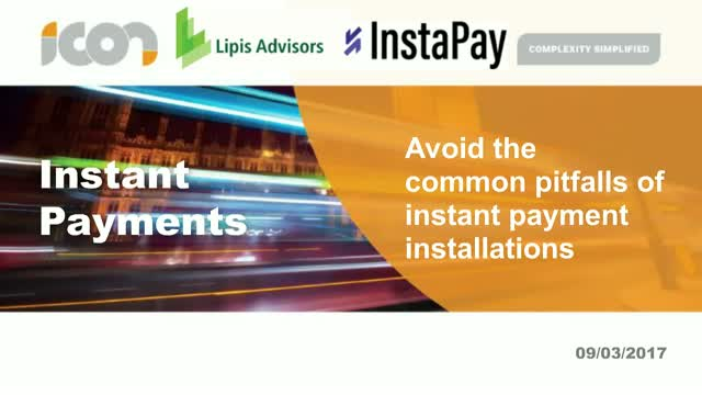 Avoid the common pitfalls of instant payment installations