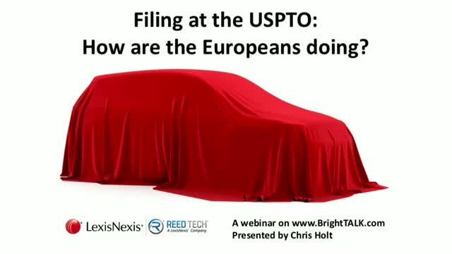 Filing at the USPTO: how are the Europeans doing?