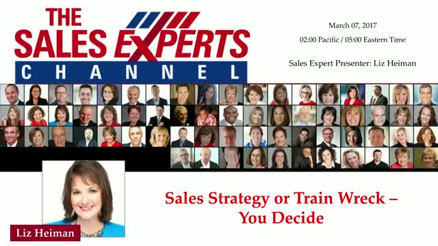 Sales Strategy or Train Wreck – You Decide