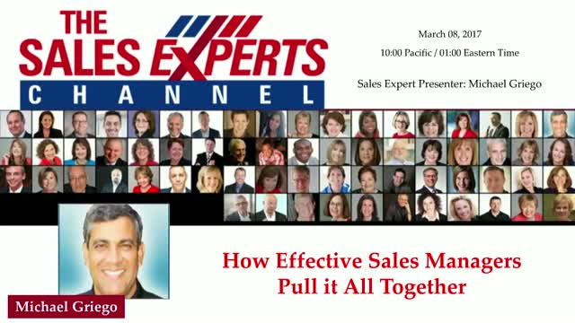 How Effective Sales Managers Pull it All Together