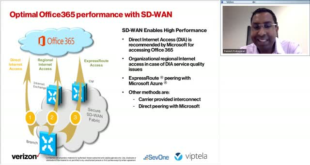 Verizon: Retail & Finance - Lessons Learned from Managed SD WAN Deployments