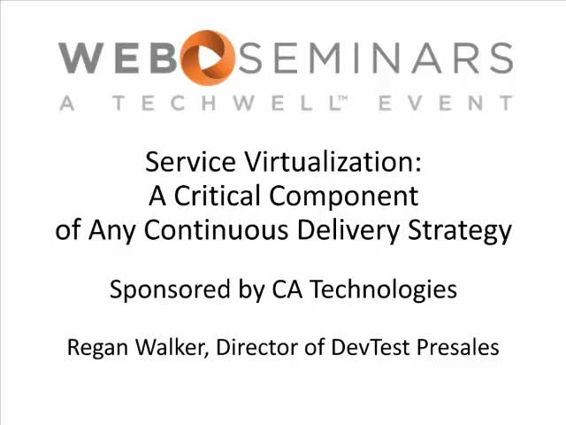 Service Virtualization: A Critical Component of Any Continuous Delivery Strategy