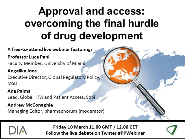 Approval and access: Overcoming the final hurdle of drug development