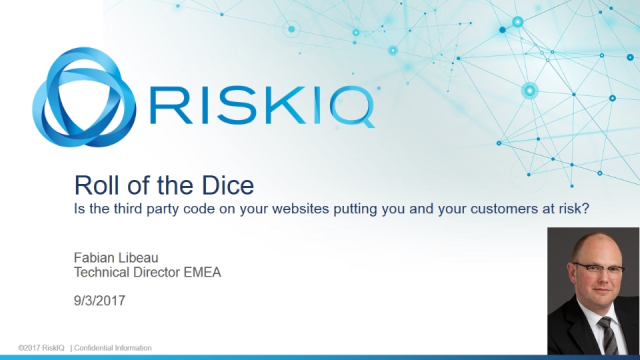 Roll of the Dice: The Dangers of Third Party Code on Your Websites