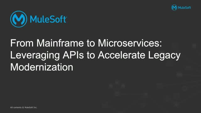 How to Leverage APIs & Microservices to Accelerate Legacy Modernization