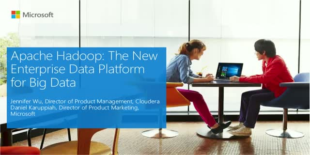 Apache Hadoop: The New Enterprise Data Platform for Big Data