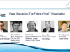 Panel Discussion: Impact of Cloud and Digital on Future of the IT Organisation