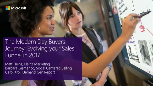The Modern Day Buyers Journey: Evolving your Sales Funnel in 2017