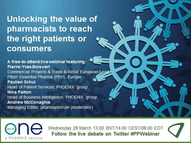 Unlocking the value of pharmacists to reach the right patients and consumers
