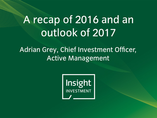 A recap of 2016 and an outlook of 2017 | Insight's annual investment update 2017