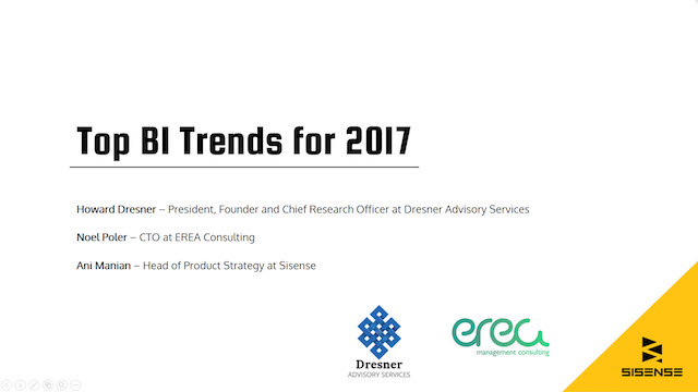 Top 9 Business Intelligence Trends for 2017