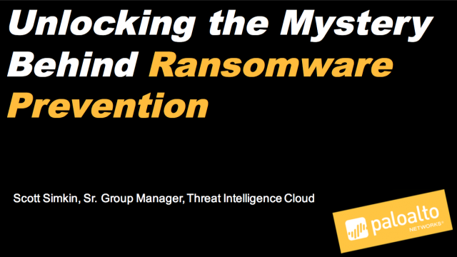 Unlocking the Mystery Behind Ransomware Prevention
