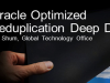 Oracle Optimized Deduplication Deep Dive