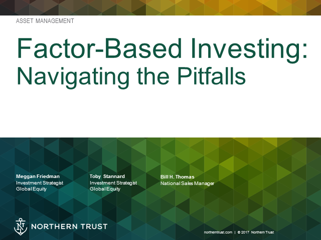 Factor-Based Investing: Navigating the Pitfalls