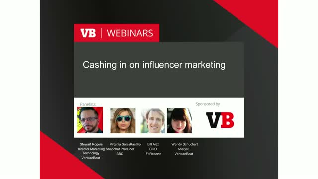 Cashing in on influencer marketing