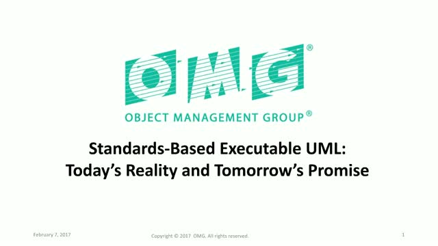 Standards-Based Executable UML: Today's Reality and Tomorrow's Promise
