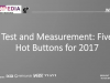 Testapedia + Ixia: Test and Measurement - Five Hot Buttons for 2017