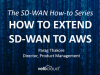 How to Extend SD-WAN to AWS