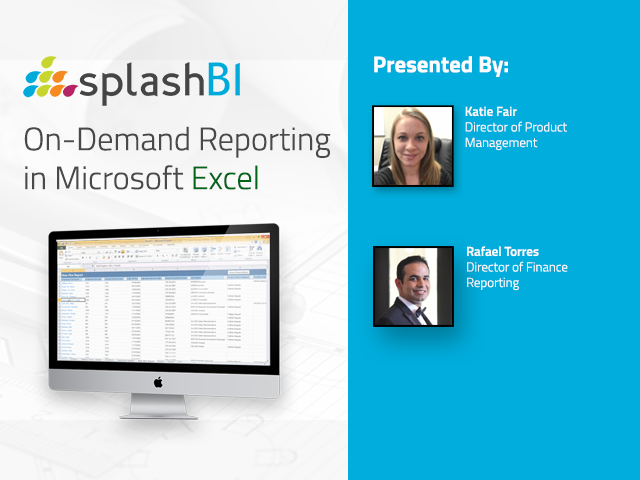 On-Demand Reporting in Microsoft Excel!