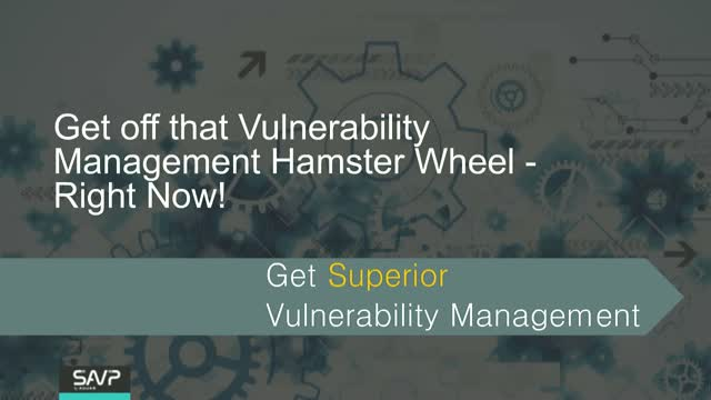 Get off that Vulnerability Management Hamster Wheel – Right Now!