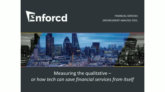 Measuring the qualitative – or how tech can save financial services from itself
