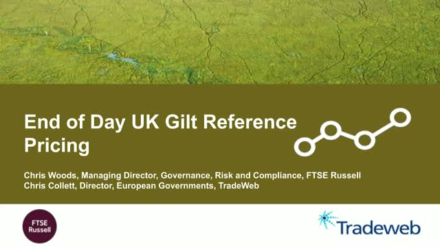 End of Day UK Gilt Reference Prices