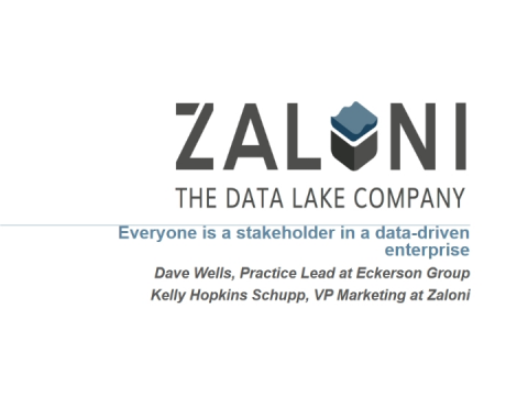 Everyone is a Stakeholder in a Data-Driven Enterprise
