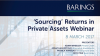 'Sourcing' Returns in Private Assets