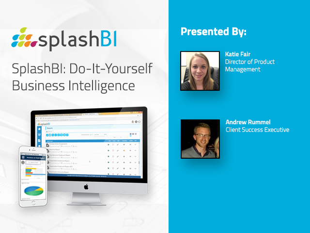 SplashBI: Do-It-Yourself Business Intelligence