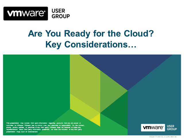 Are You Ready for the Cloud? Key Considerations