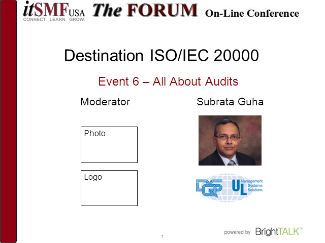 Destination ISO/IEC 20000: All About Audits