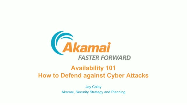 Availability 101: How to Defend against Cyber Attacks