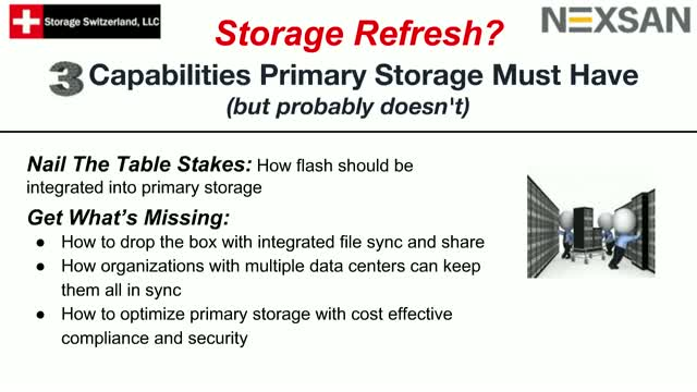 Storage Refresh? 3 Capabilities Primary Storage Must Have (but probably doesn't)